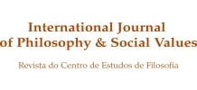 International Journal of Philosophy and Social Values